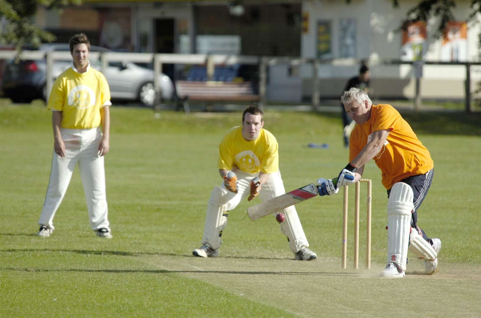 Cricket action from Newmarket in 2011. Picture: Mark Westley