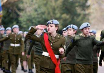 Culford School's Combined Cadet Force held its annual Inspection Day ANL-150326-171436001