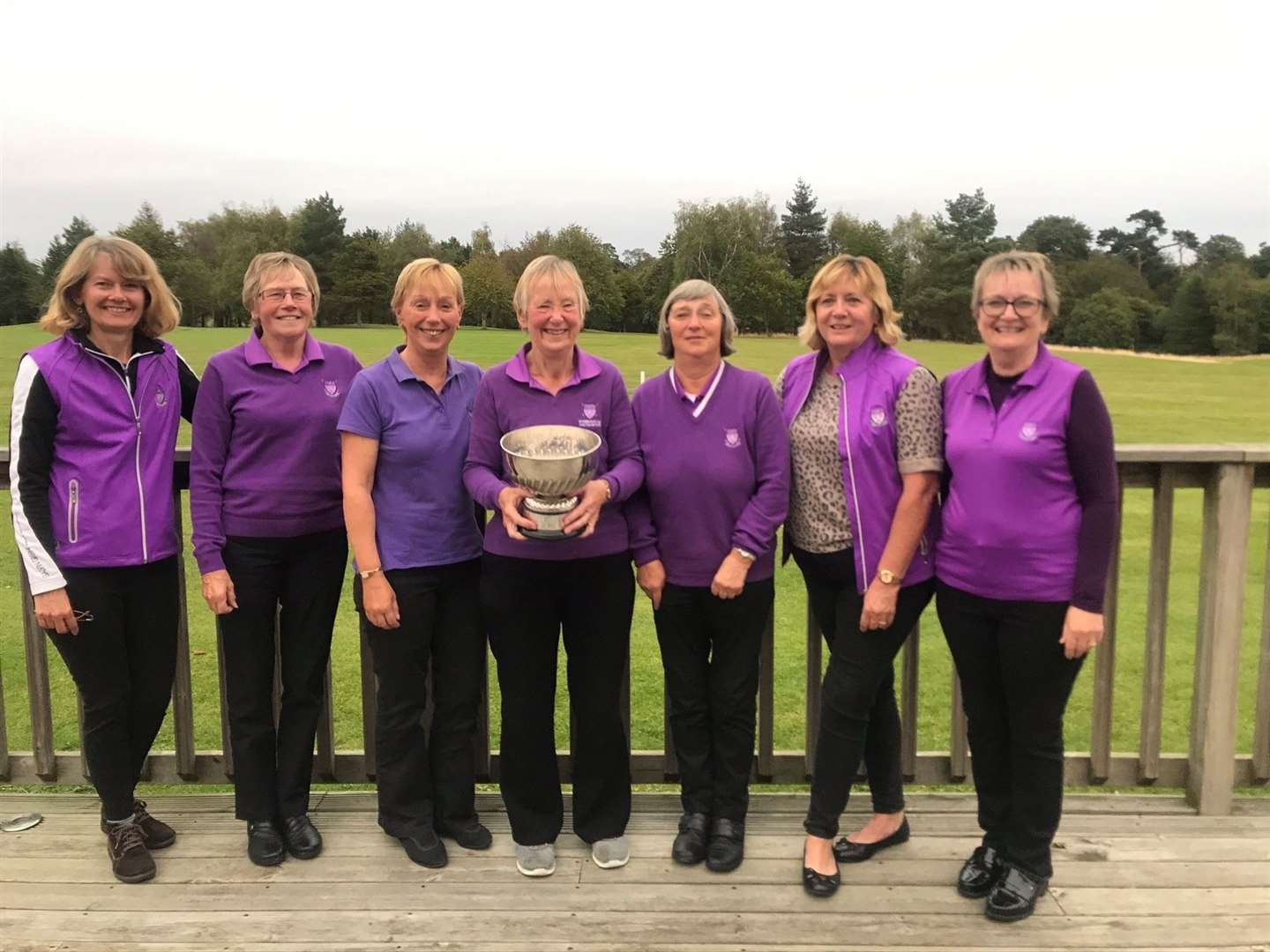 Stowmarket Ladies, Stearn Trophy champions 2019 (33859571)