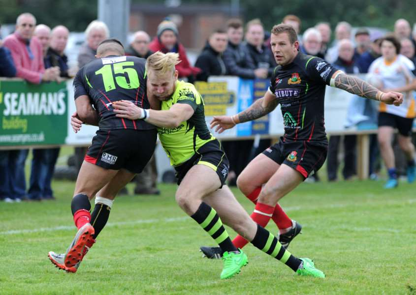 RUGBY - Bury St Edmunds v Redruth''Pictured: Jacob Bodkin ANL-161015-194500009