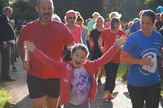 People of all ages and abilities have continued to put on their running shoes for the event