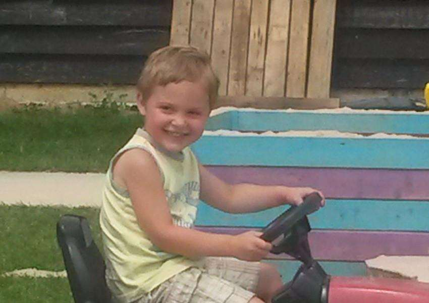 Dexter Neal, 3, died after being attacked by a dog. ANL-160819-141222001