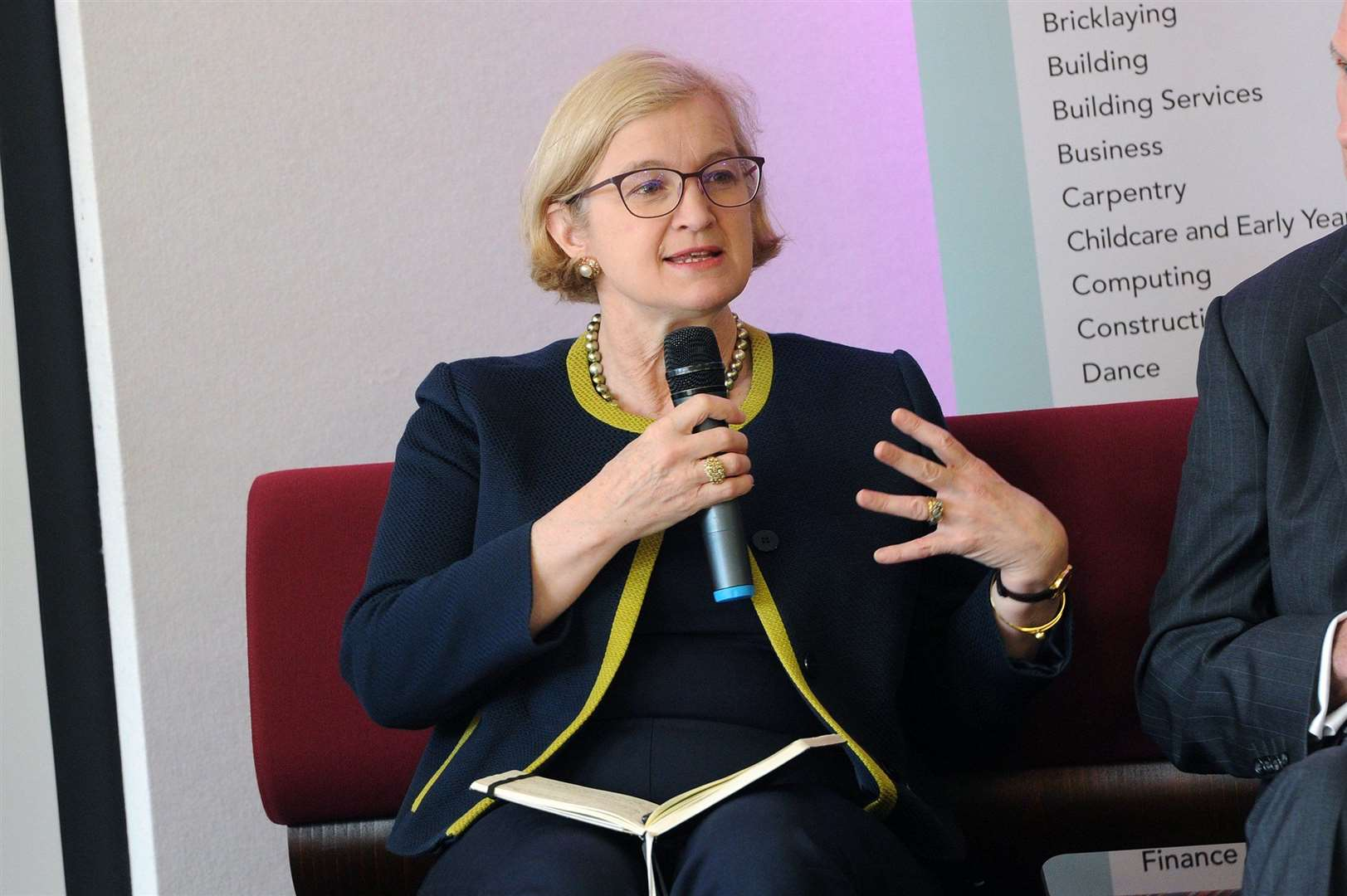 Amanda Spielman at last year's festival. Picture by Mecha Morton.