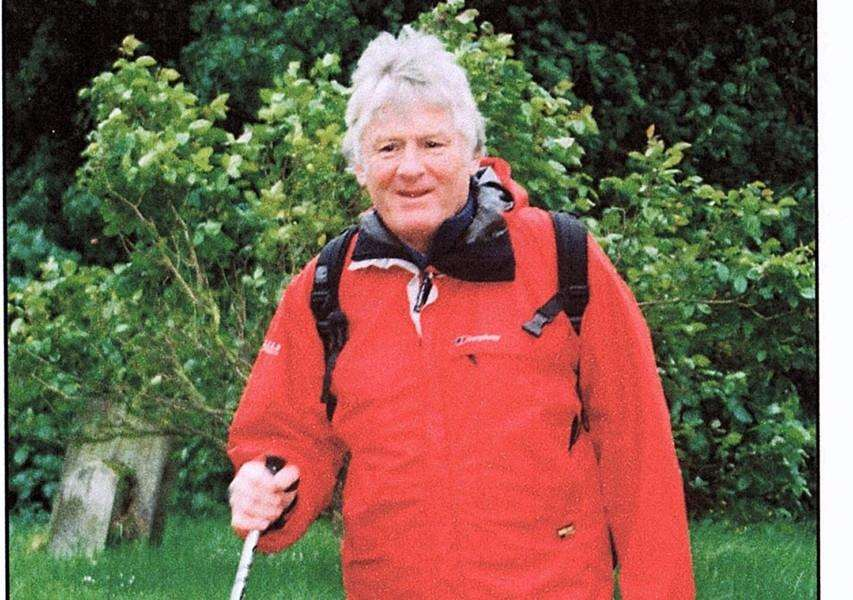 Peter Hurrell, of Fornham All Saints, is preparing for his Camino Challenege