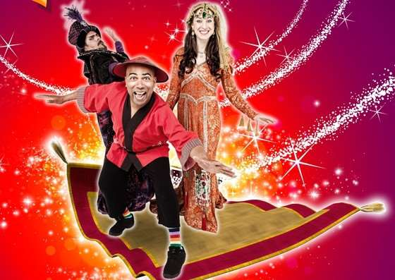 Aladdin is now showing at the Mercury Theatre in Colchester ANL-151012-110752001