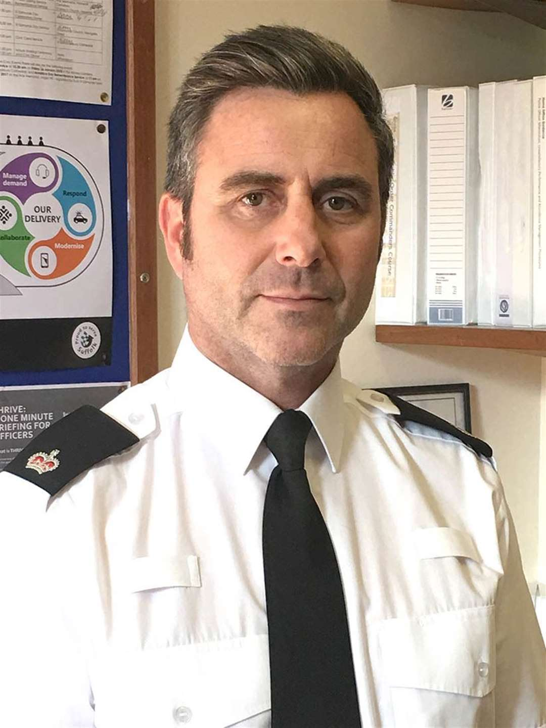 Temporary Chief Superintendent Kim Warner has urged people to 'show restraint, discipline and common sense' over the next month