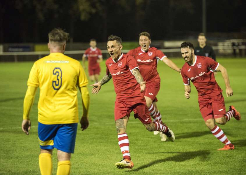 LEAVING IT LATE: Sam Reed netted Ely's winner at Walsham