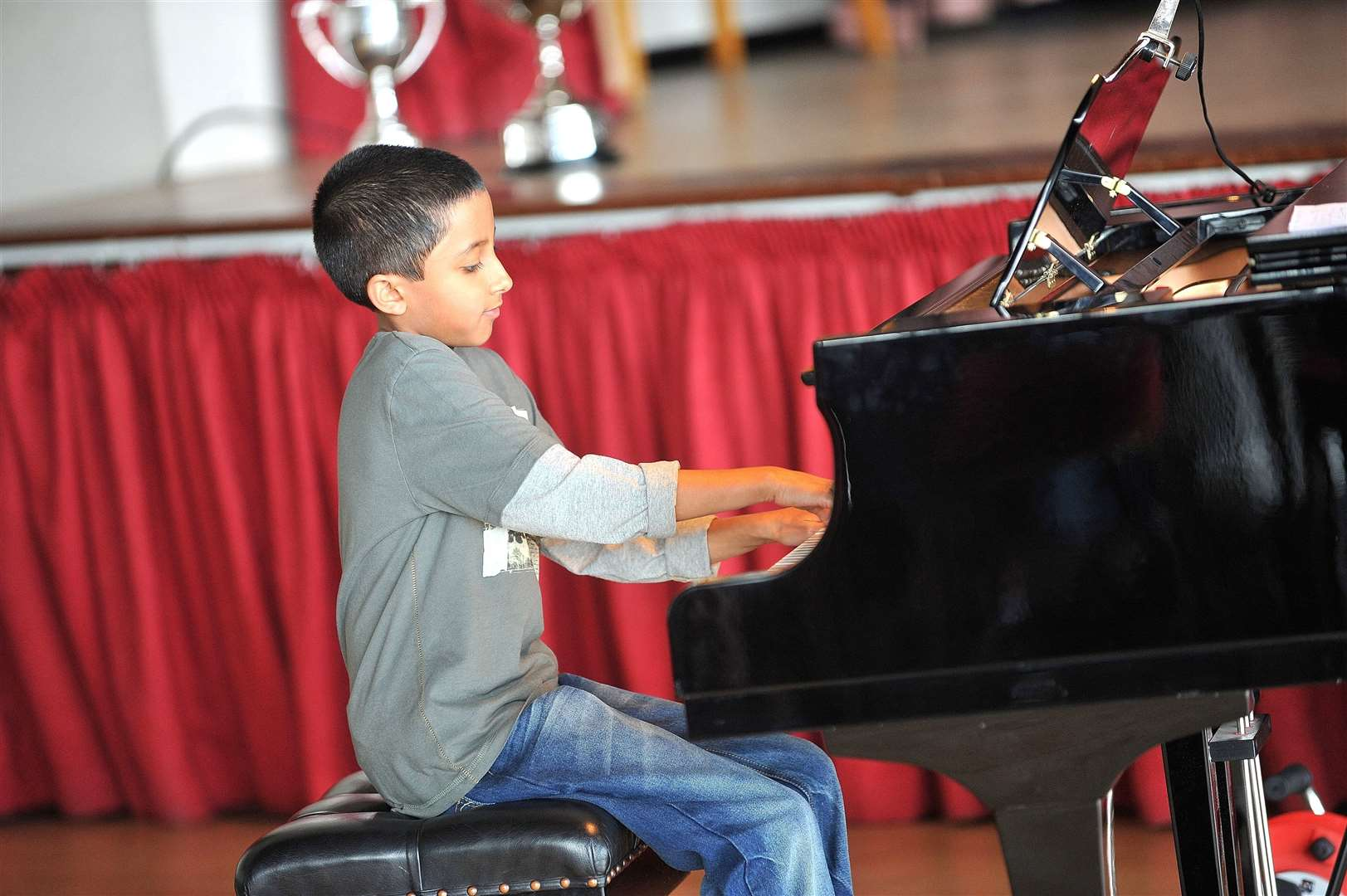 Piano solo and duets as part of Sudbury Festival of Performing Arts...FL;9 year old Adithya Shenoy. .. (15245399)