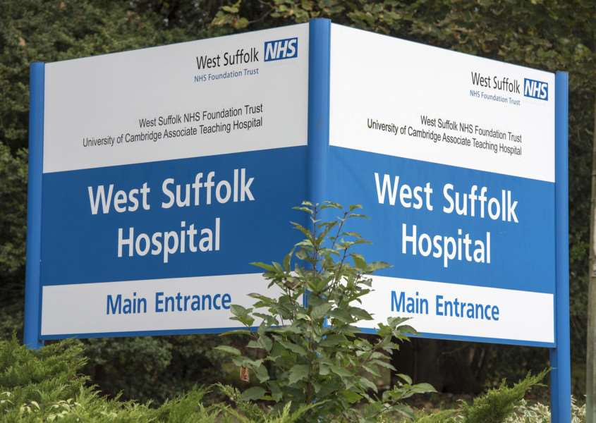West Suffolk Hospital Bury St Edmunds Picture Mark Westley