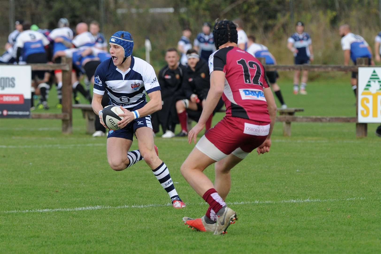 RUGBY - Sudbury v Amersham & Chiltern..Pictured: Jake Sumner....PICTURE: Mecha Morton... .. (5056974)