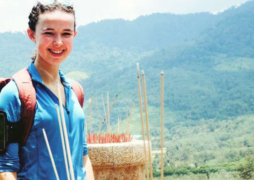 Flora Bagnall is fundraising for a conservation trip in the Amazon