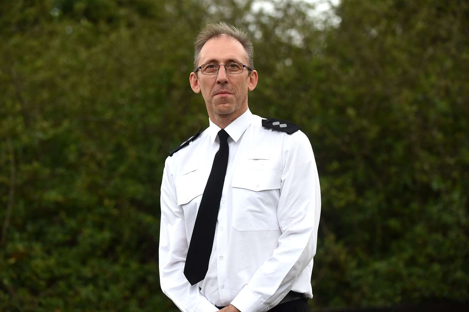 Kevin Horton, the Suffolk Police locality inspector for Sudbury and Haverhill. Picture by Mecha Morton