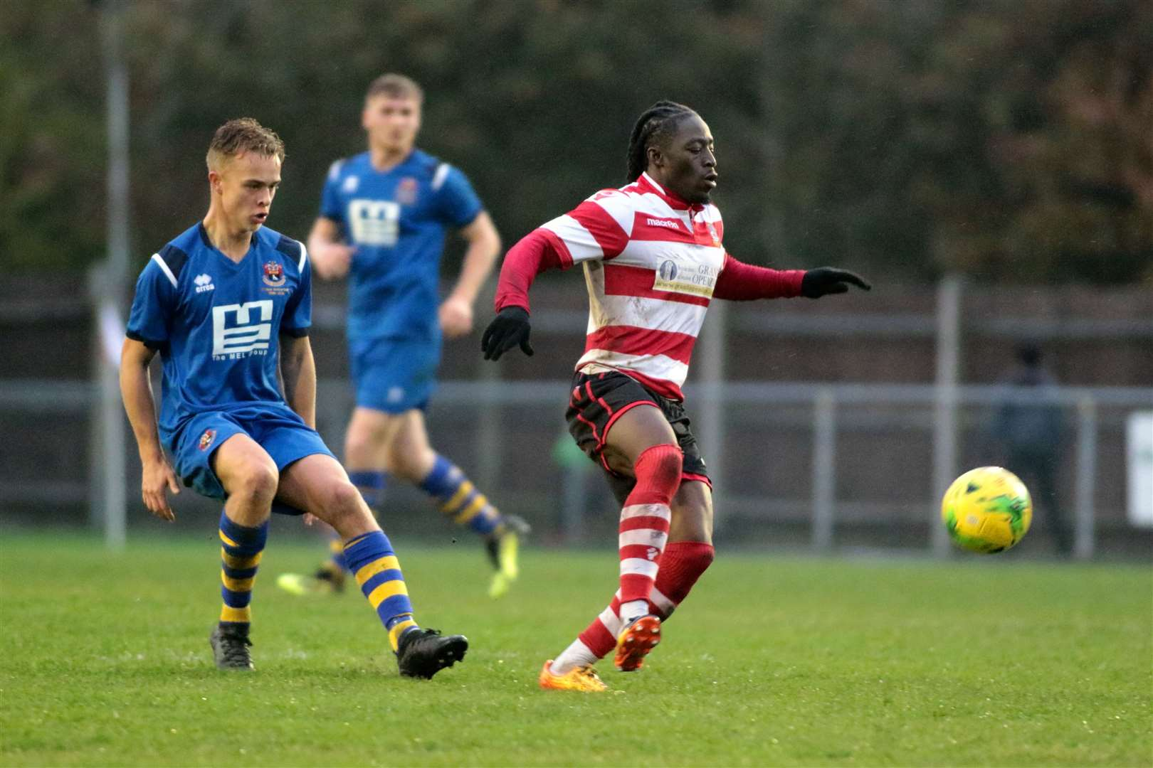 AFC Sudbury v Kingstonian - Lewis O'MalleyPicture: Clive Pearson (22680548)