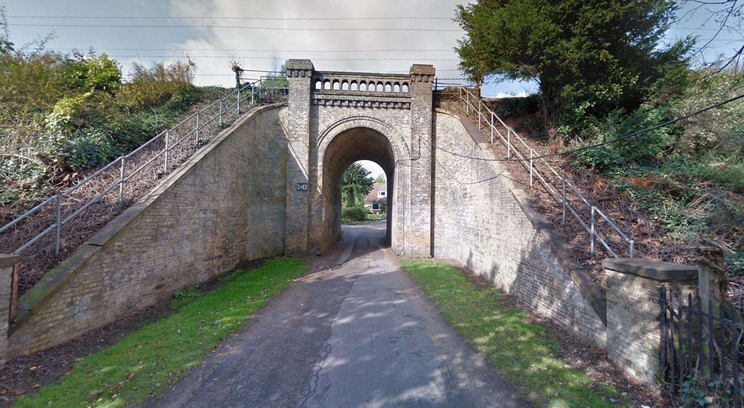 The Railway Bridge over Corporation Avenue in Ipswich will join the Local List in 2020. Picture: GOOGLE MAPS (41853035)