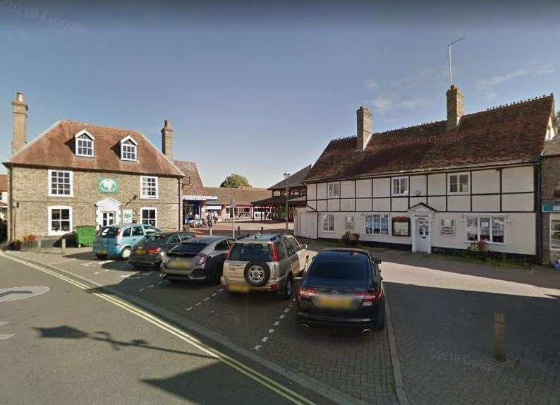 Market Place in Mildenhall (Google)