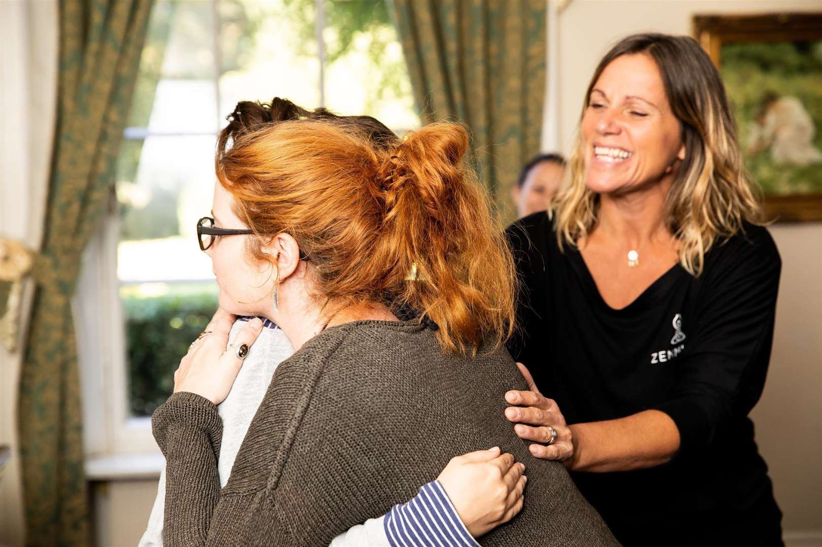Jackie Heffer-Cooke at a hypnobirthing training session (7093224)