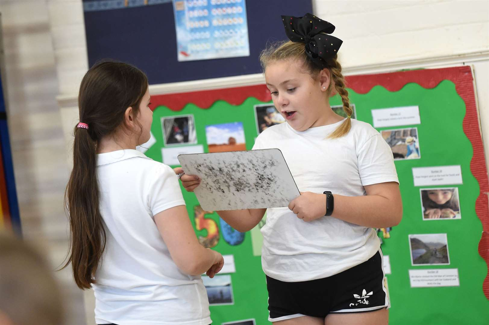 Glemsford Primary Academy staged a sports themed event to encourage youngsters to keep fit...PICTURE: Mecha Morton .... (22635386)
