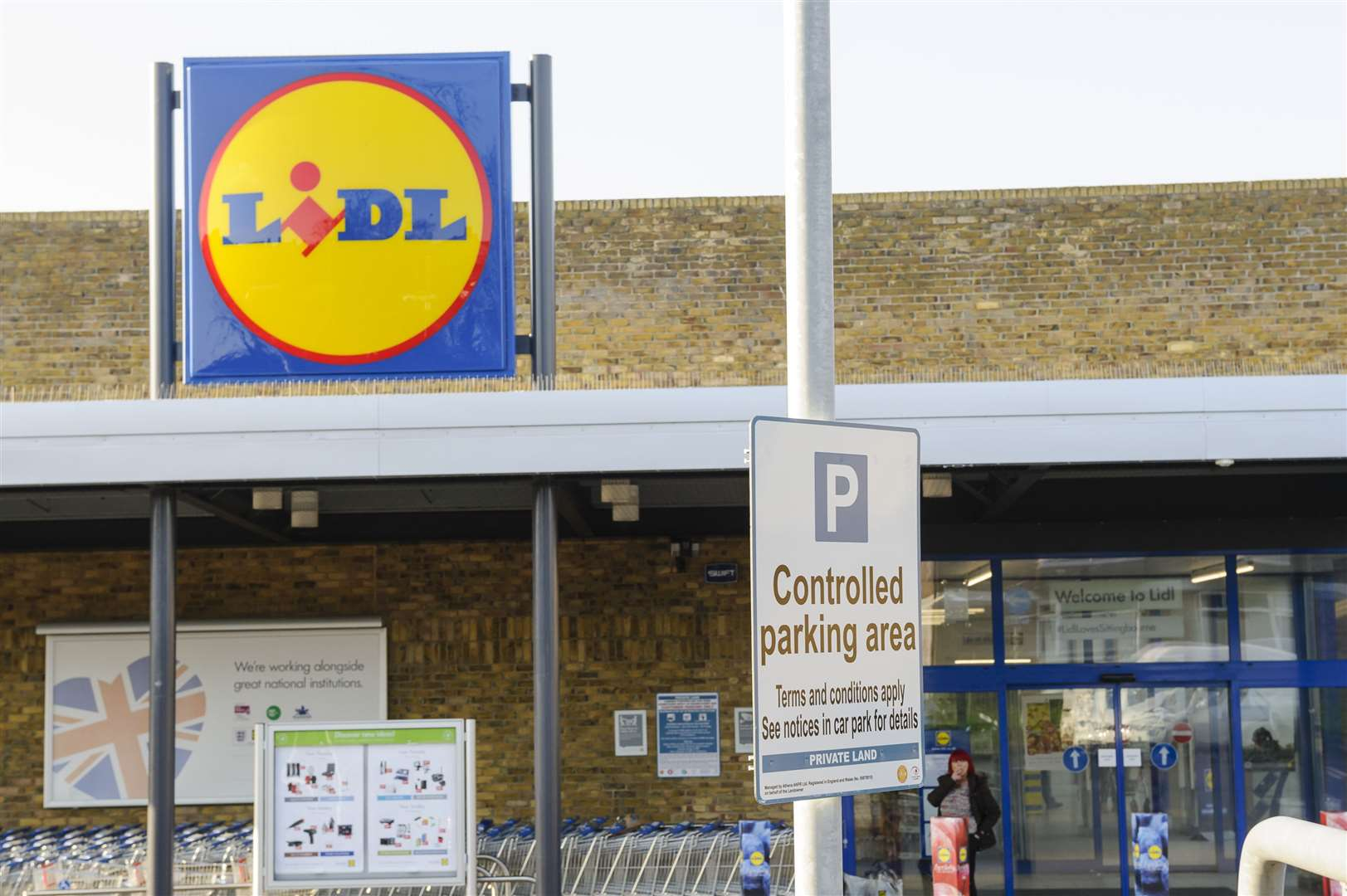 Lidl is among supermarkets recalling products. Picture: Andy Payton
