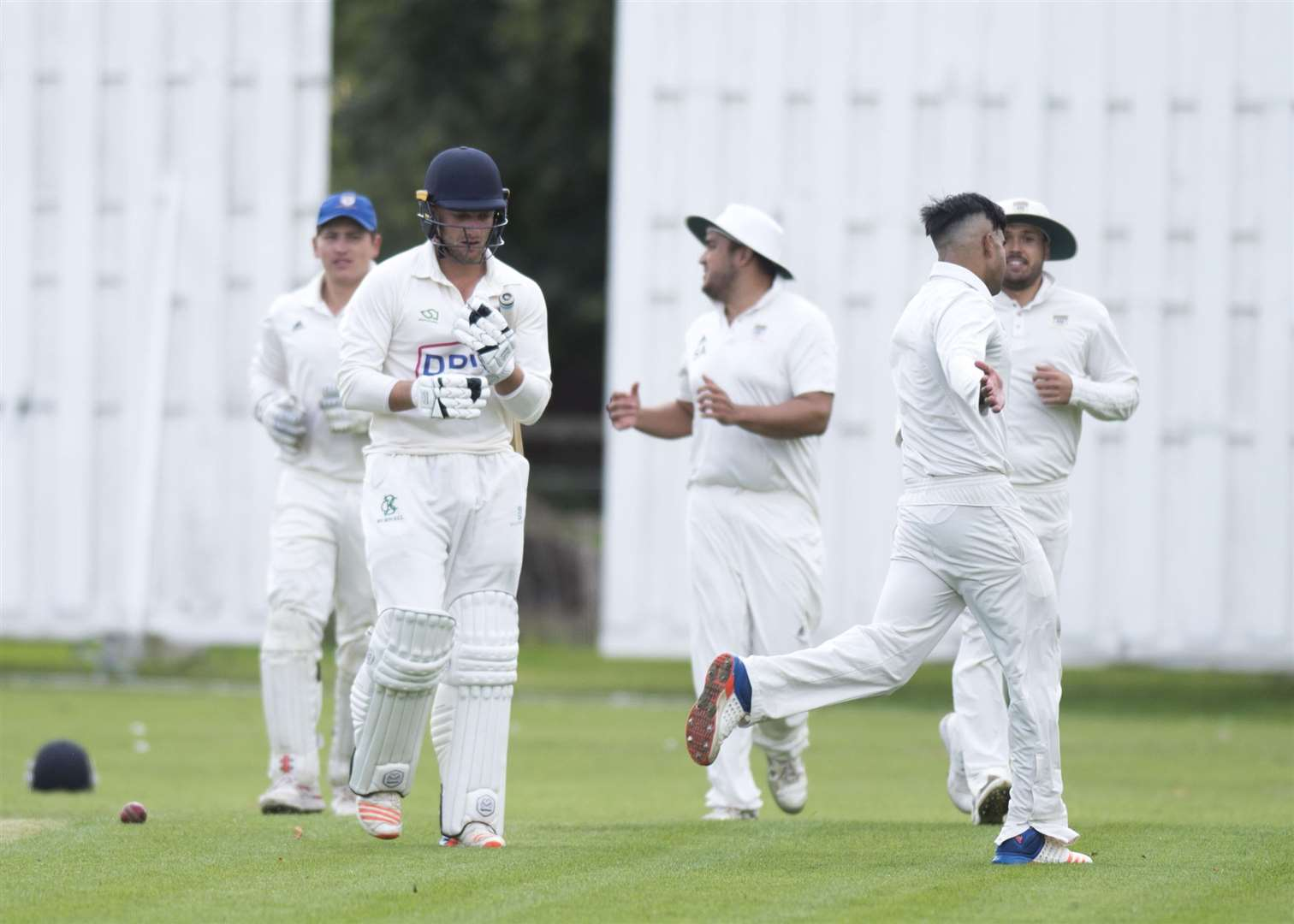 CRICKET: Burwell & Exning v Cambridge Granta Sam Rippington out Picture Mark Westley. (3806337)