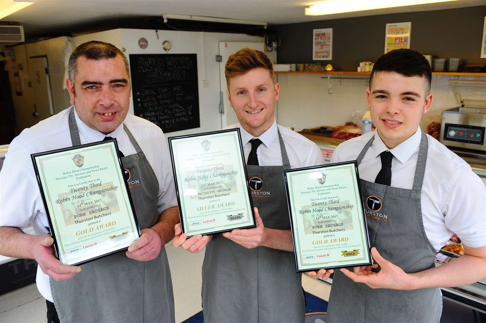 The award winning butchers was targeted by scammers Picture: Mark Bullimore