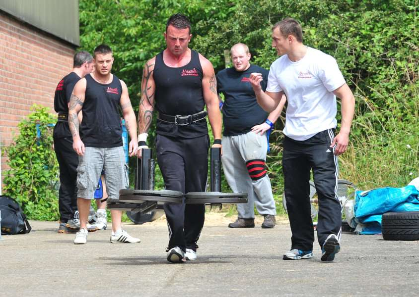 Sudbury's Strongest Man competition.