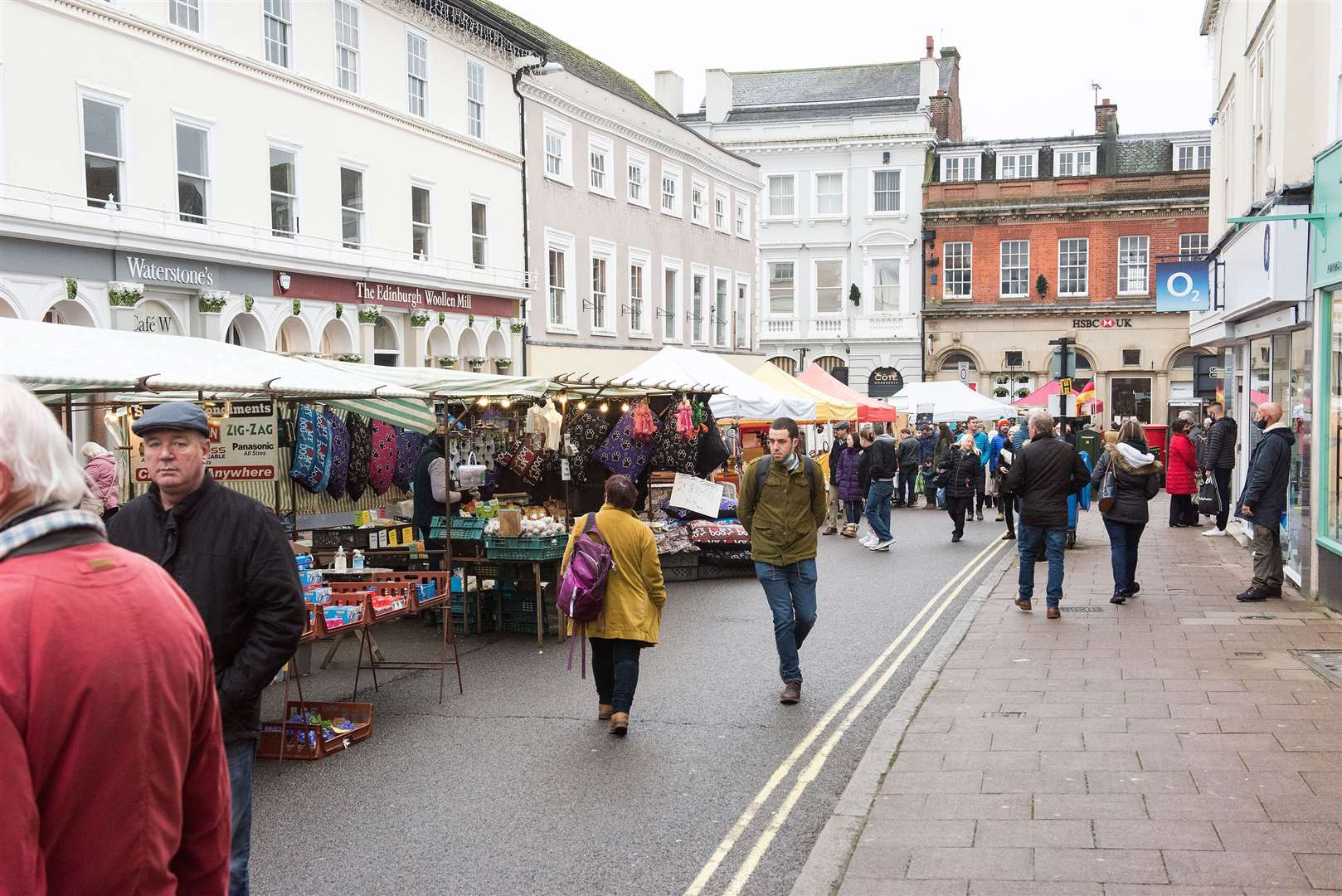 All traders will return to Bury St Edmunds market. Picture: Mark Westley