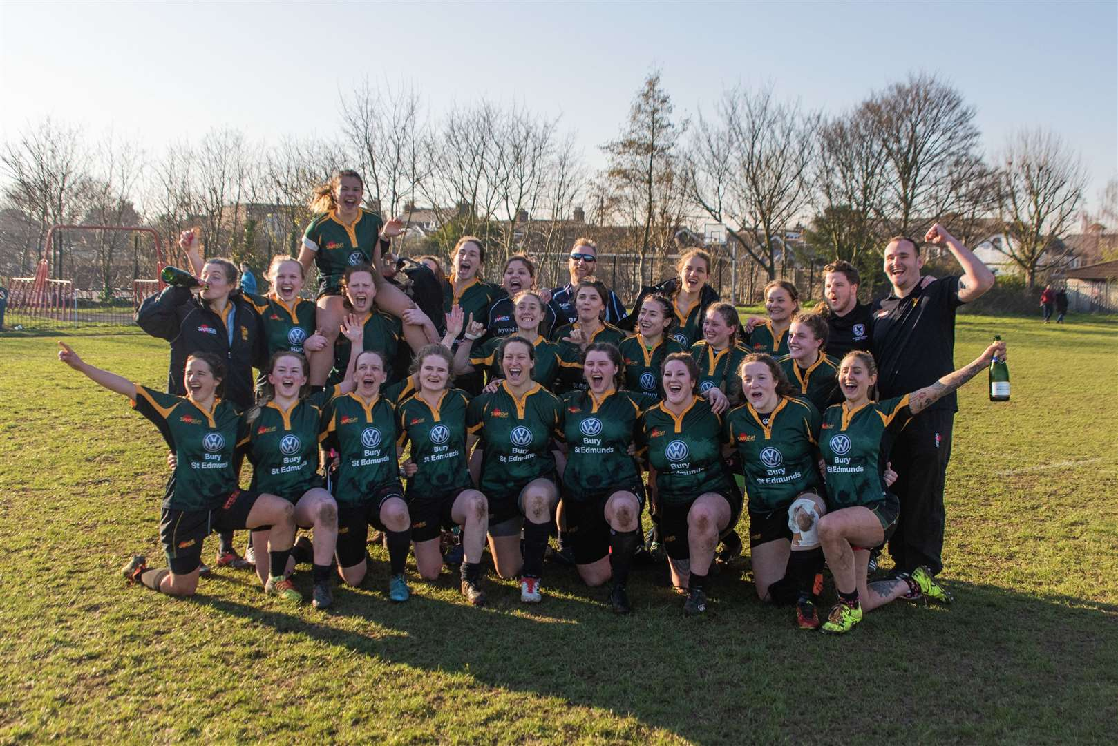 Bury Foxes beat Stanford le Hope 69-0 to win Women's NC East 1 with 2 games to spare. Picture: Stepping Stones Photography (7486626)