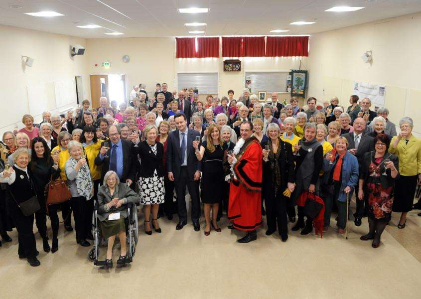 Horringer & Ickworth WI centenary thanksgiving celebration''''PICTURE: Mecha Morton