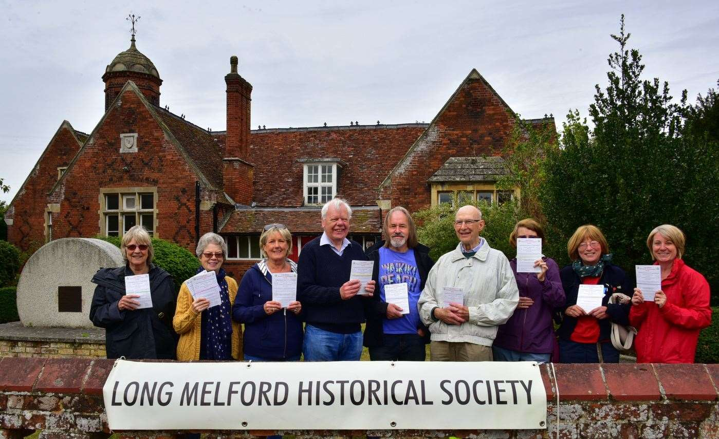 Long Melford Historical and Archaeological Society marks its 50th milestone with a public event paying homage to the village's rich heritage. (16599461)