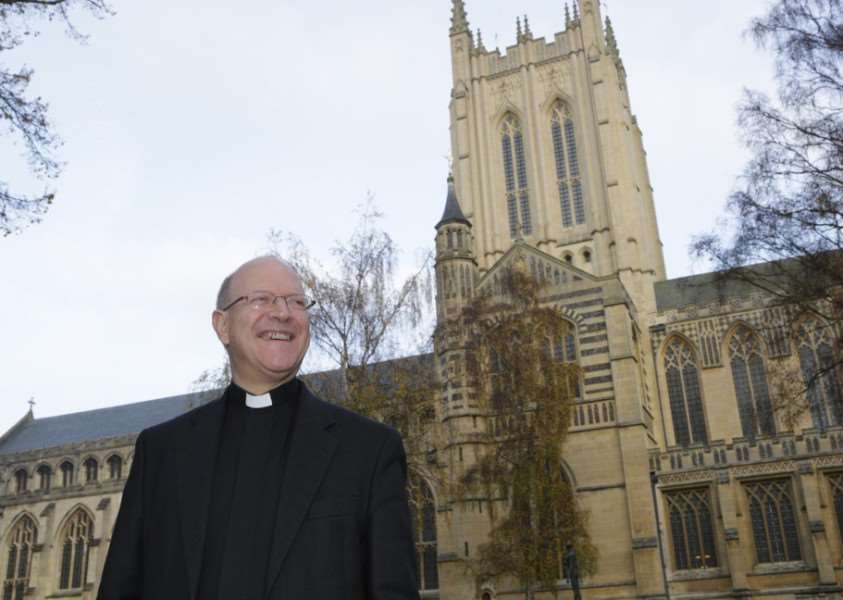 The Rt Revd Martin Seeley, Bishop of the Diocese of St Edmundsbury and Ipswich