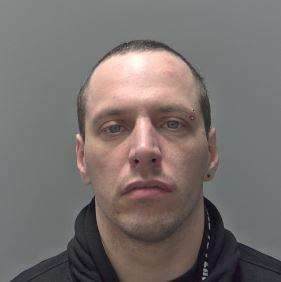 Alexander Hockett, 34, of no fixed abode, has been sentenced to four years after pleading gulty to a string of burglaries ANL-160419-092957001