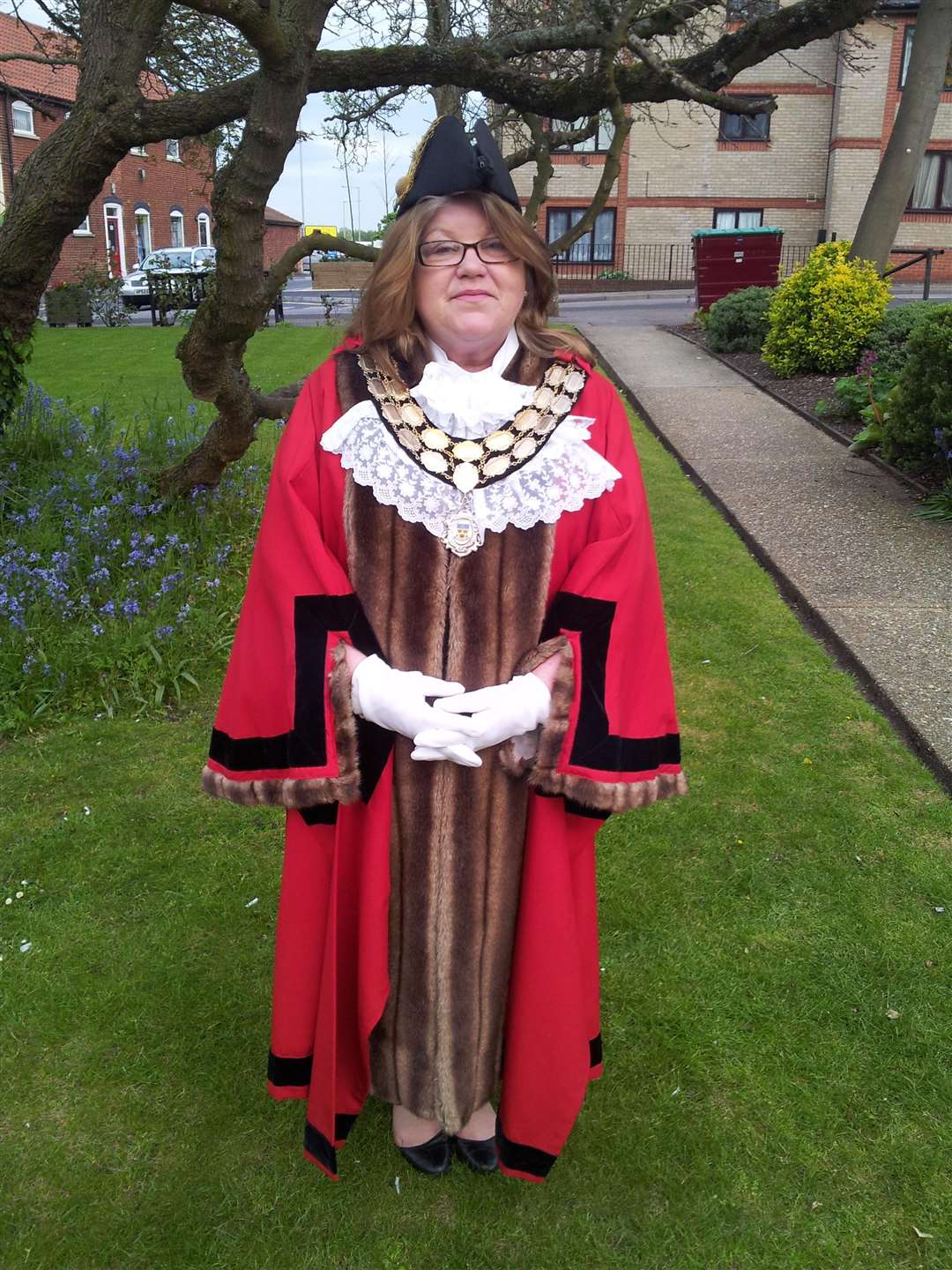 Anne Whybrow has just been made Mayor of Stowmarket. (3617969)