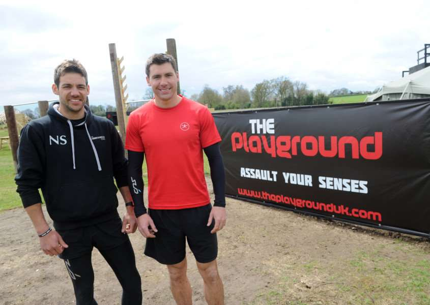 Brothers Nick and Phil Smith are launching an assault course for adults and kids over eight