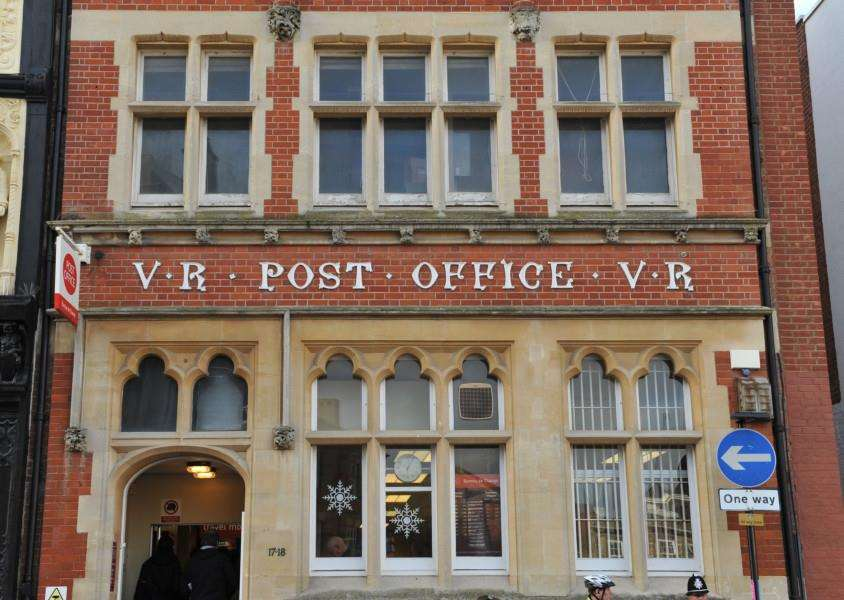 The former post office building, at 17-18 Cornhill, could be transformed by St Edmundsbury Borough Council