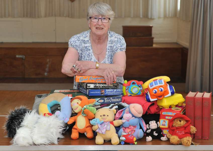 Lois Hunter is holding her final jumble sale after 50 years ANL-150427-165054009