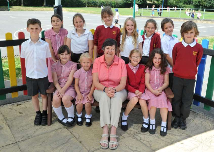Head Teacher, Joan Horner, is retiring from Clare Community Primary School after 14 years there ANL-150721-151718009