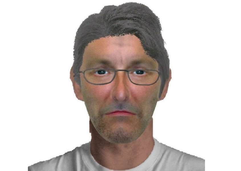An E-fit of a man police want to speak to after a little girl was grabbed in Sapiston ANL-160809-154620001