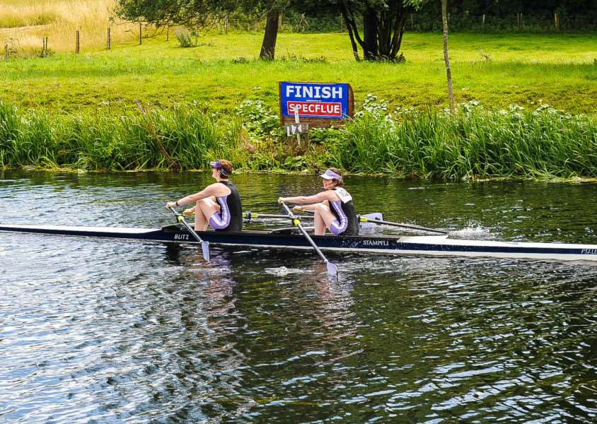 MAKING WAVES: Action from Sudbury Rowing Club's record breaking annual regatta on Friars Meadow