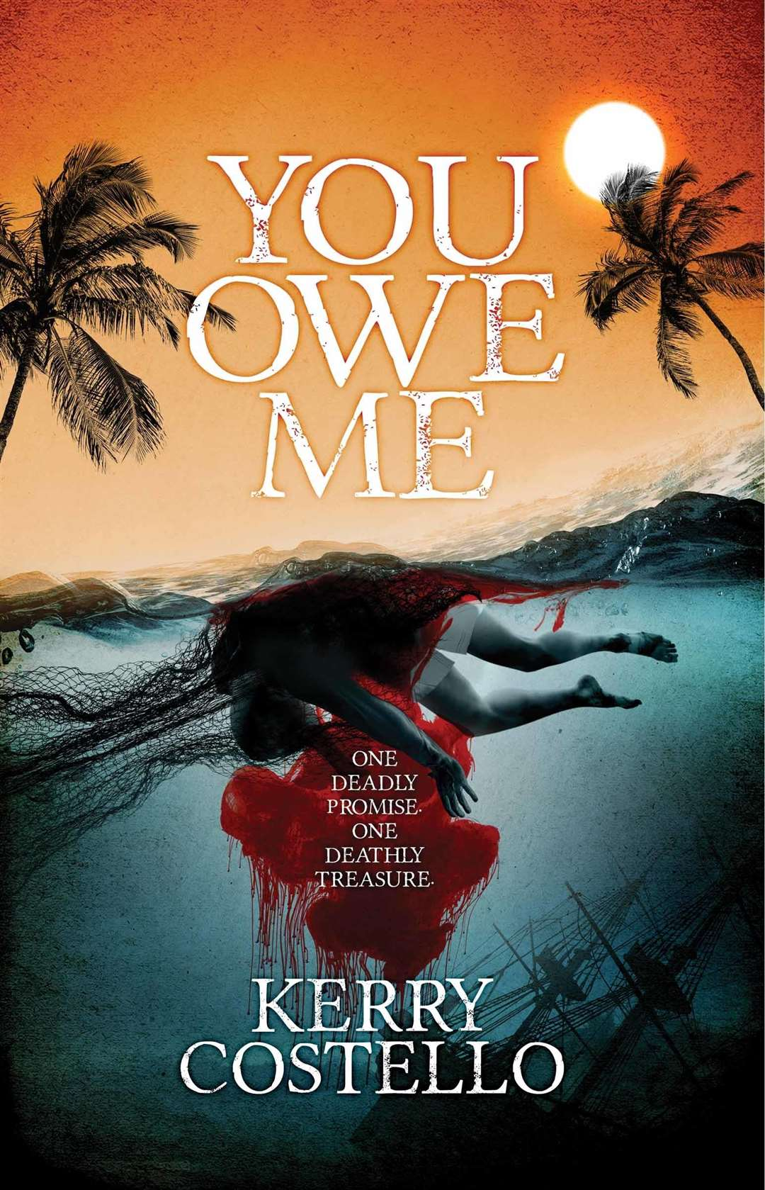Mr Costello is a thriller writer and has recently released You Owe Me (7442499)