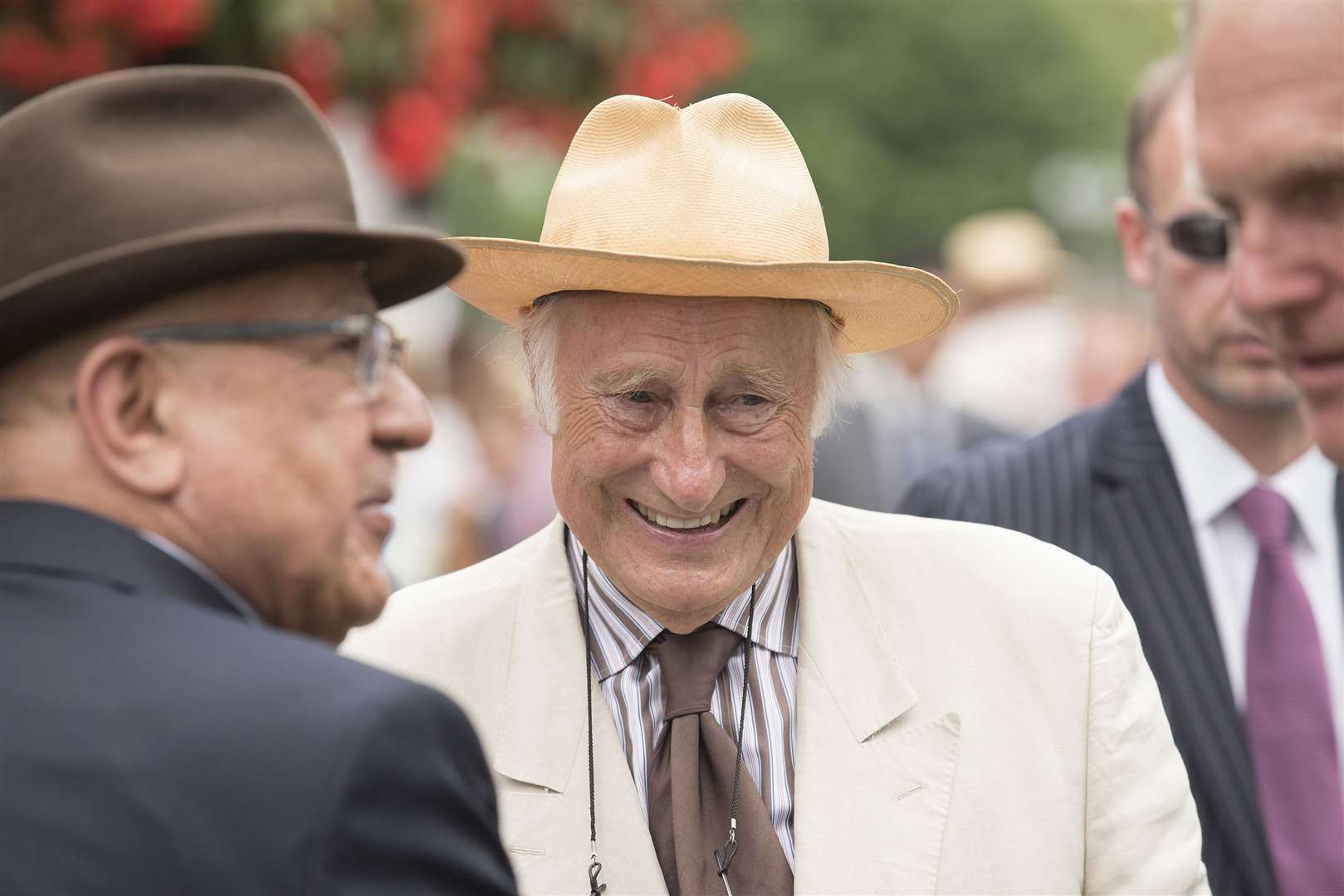 Property tycoon and pensioners' pal Bill Gredley has donated £50,000 to Newmarket's Covid-19 Fund Picture Mark Westley