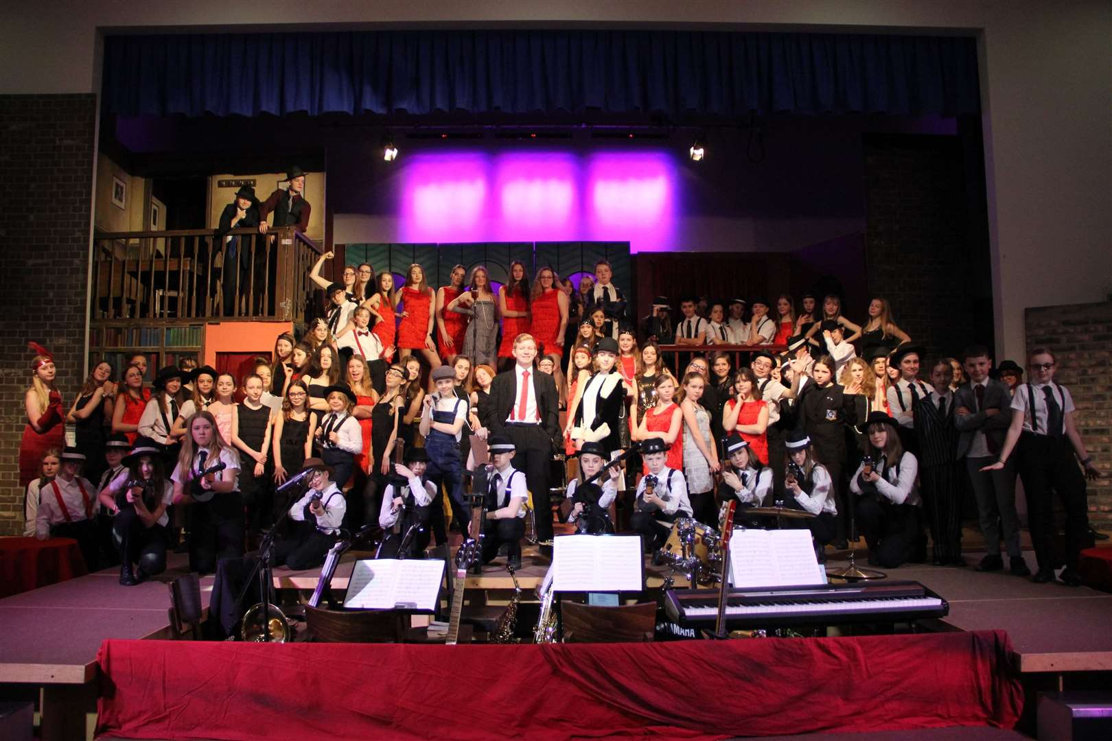 Bugsy Malone production at Thomas Gainsborough School. (31247665)