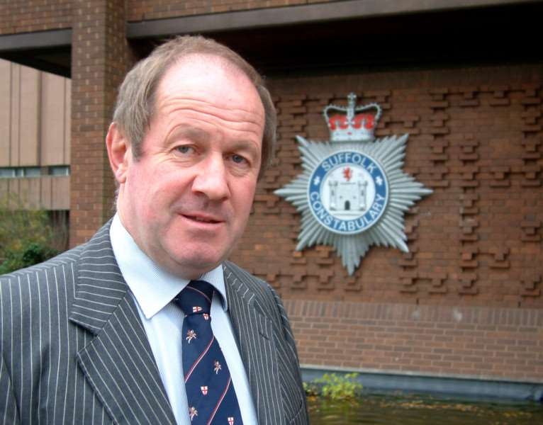 Tim Passmore who is the new Police Commissioner for Suffolk
