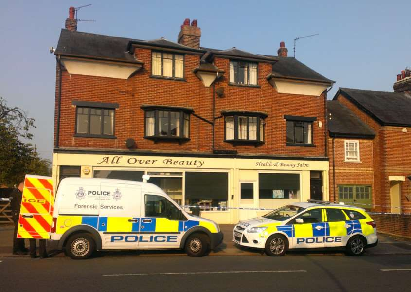 Scene of robbery at All Over Beauty in Bury St Edmunds last September