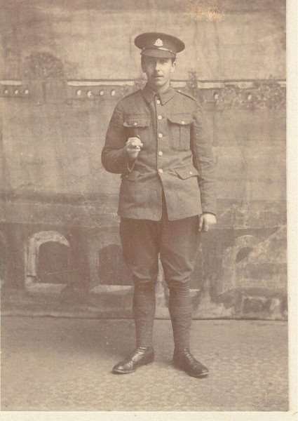 William Balls one of the 'West Row Boys' who fought in WW1
