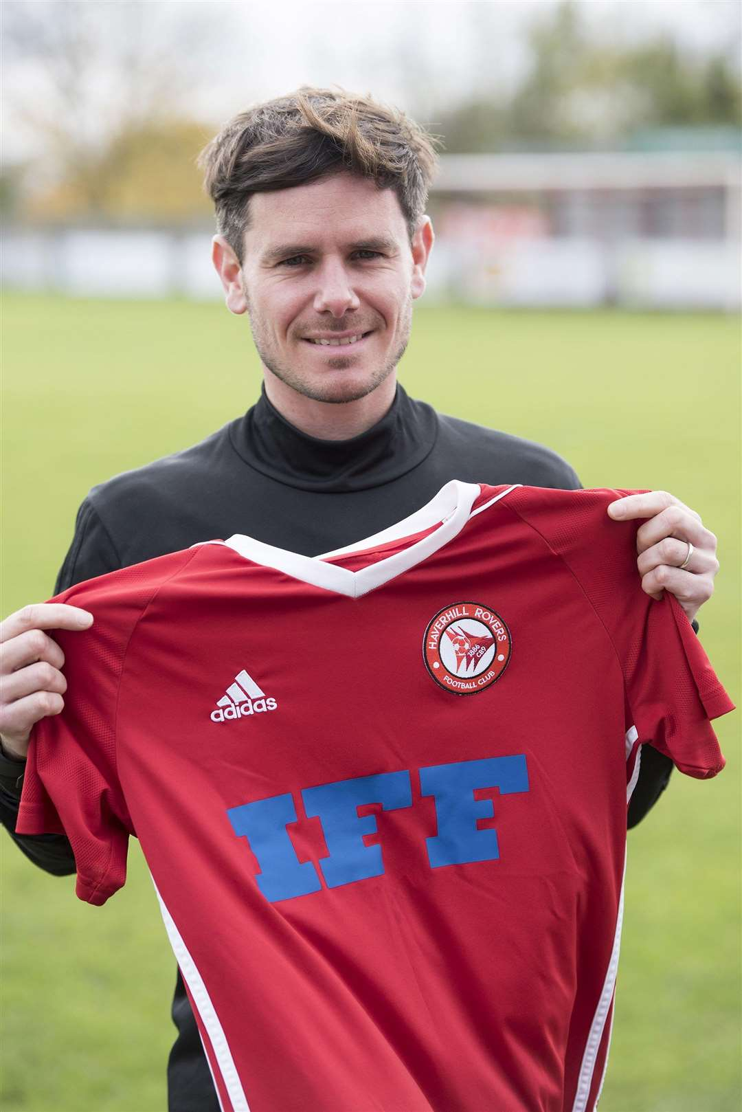 THE REDS: Haverhill Rovers manager Marc Abbott (Picture: Mark Westley)