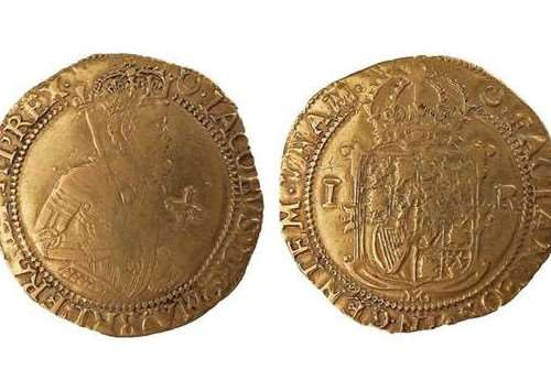 Lot 21 - the James I Unite coin that could fetch up to �1,500.