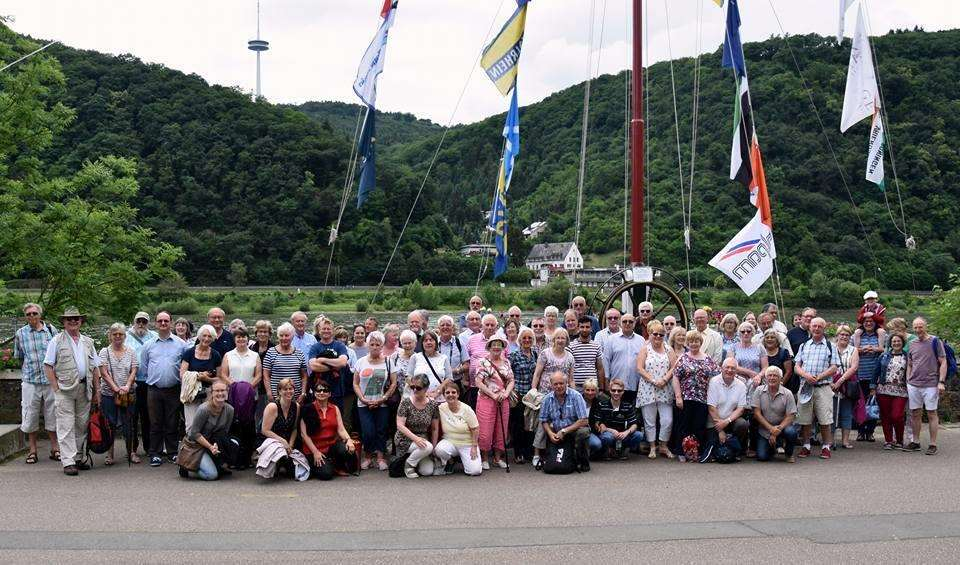Haverhill Twin towns Association and their hosts during their 2018 exchange to Ehringshausen (2347750)