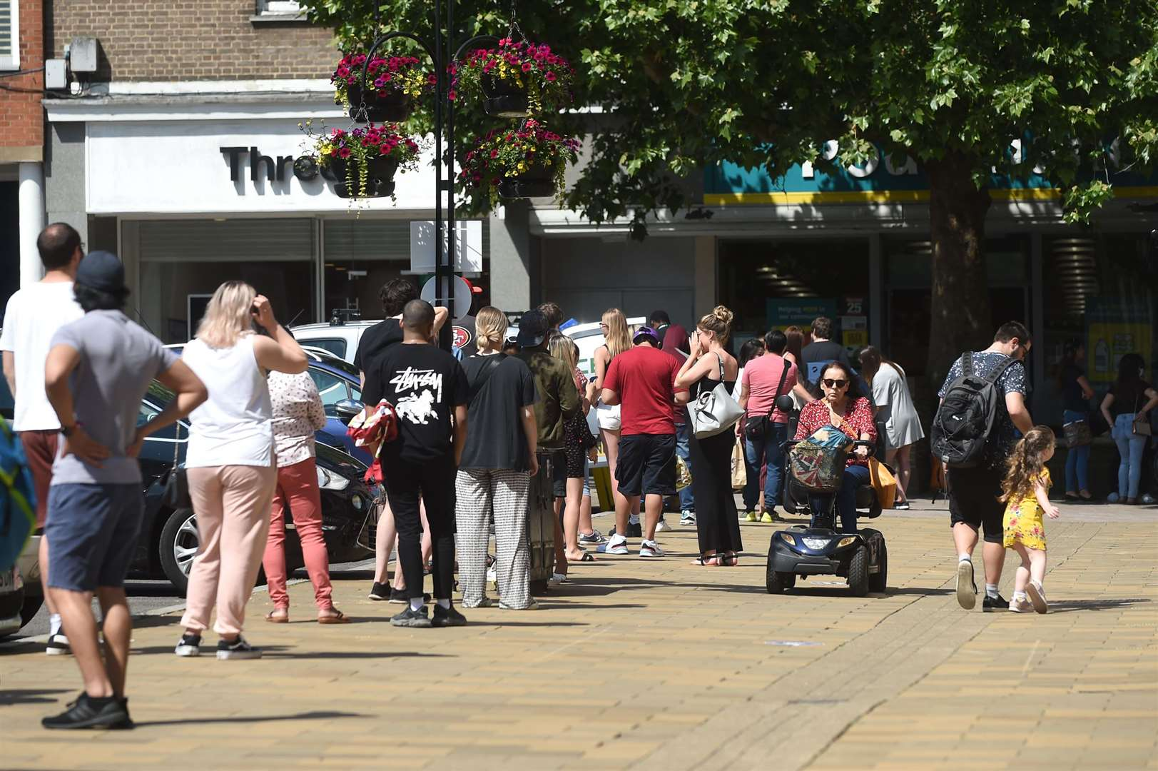 Shops are opening and moving in Bury St Edmunds town centre	Picture by Mecha Morton