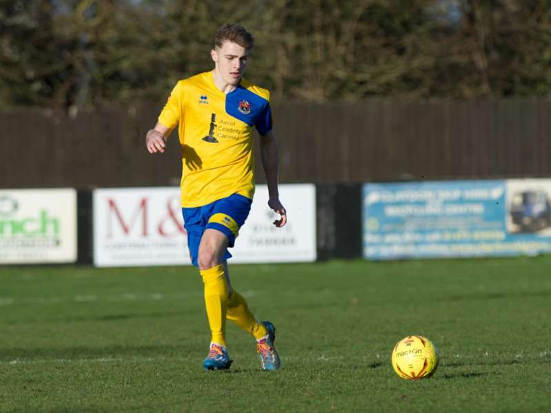 HOT PROPERTY: Tyler French in action for AFC Sudbury this season