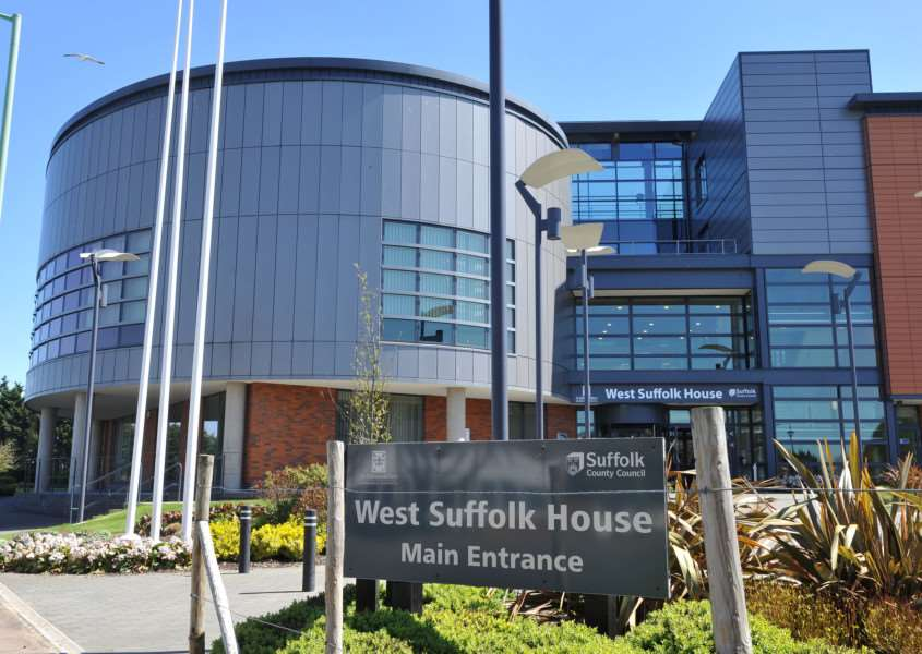 St Edmundsbury's headquarters at West Suffolk House ENGANL00120130105142226